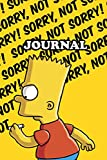 Journal Simpsons Notebook Calendar 2021 Gift Kids Adult Collector Edition 16