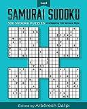 Samurai Sudoku Puzzle Book: 500 Hard Puzzles overlapping into 100 Samurai Style