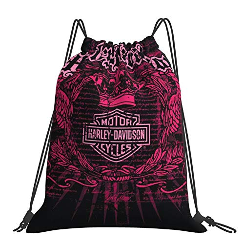 Tianna Fish On Harley Stuff School Nursery Trainer Shoe Pe Gym Sport Kit Swimming Drawstring Bag