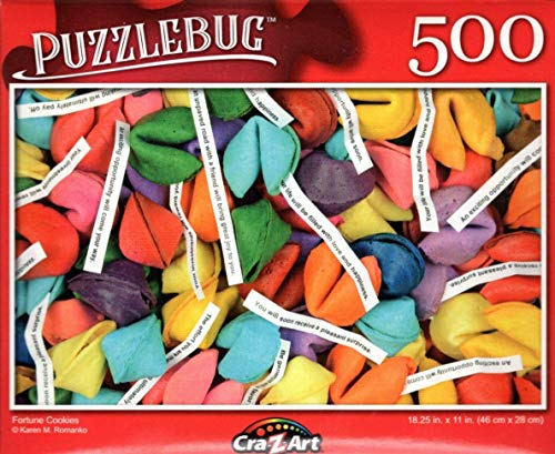 500 Piece Fortune Cookies Puzzlebug Jigsaw Puzzle