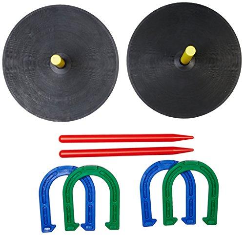 Amazon Basics - Juego de herraduras de goma