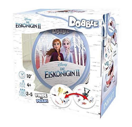 Asmodee ASMD0068 Dobble Disney Die Eiskönigin II, Familienspiel, Reaktionsspiel, Deutsch