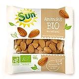 SUN Amande Décortiquée Bio 150 g - Lot de 4
