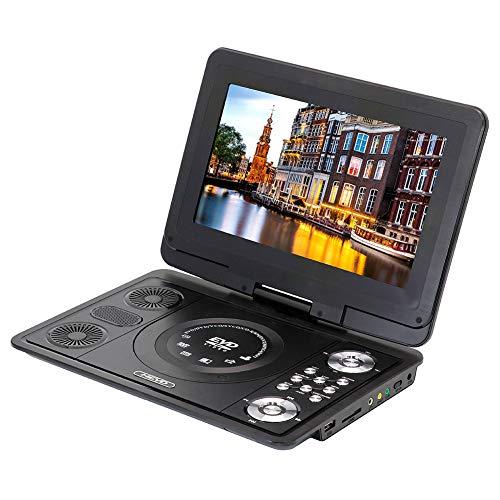 LED vloeibaar productvertoning 10,1 inch hoge resolutie, kan het scherm gedraaid zijn 270 graden vrijelijk draagbare DVD-speler, met laadfunctie