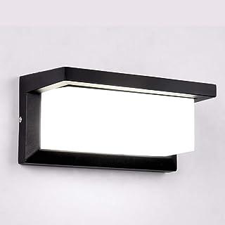 comprar comparacion HAOFU Apliques de Pared Lámpara Moderna 10W, LED, 1000Lúmenes,Aplique para exterior, 6000K luz blanco frío,impermeable IP6...