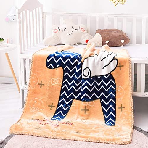 HOSD Decke für Kinder zum Nickerchen aus Fleece, Korallendecke, Winterdecke, Geschenk für Kinder 100×125 Piccoli Pellicani