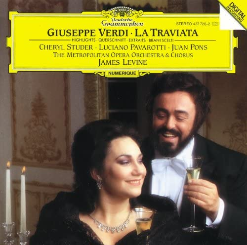 Juan Pons, Sondra Kelly, Cheryl Studer, Luciano Pavarotti, Metropolitan Opera Chorus, Metropolitan Opera Orchestra & James Levine