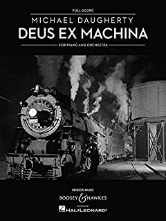 DEUS EX MACHINA - PIANO AND ORCHESTRA FULL SCORE