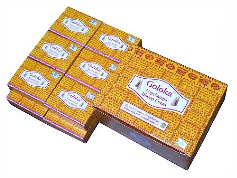 簡略化する知覚するオートマトンGOLOKA(ゴロカ) ゴロカ ナグチャンパ香 コーンタイプ NAG CHAMPA CORN 12箱セット
