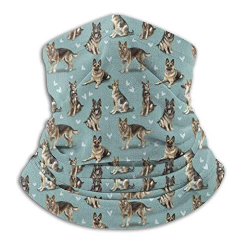 The Gsd - Bandana para perro pastor alemán M-a-s-k para la cabeza, pasamontañas para el polvo, el viento, la protección solar para hombres y mujeres