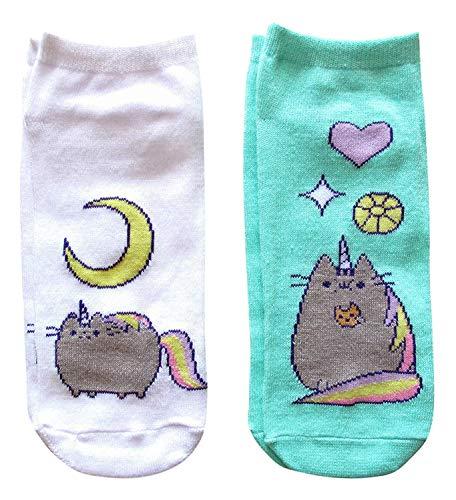 Pusheen Unicorn Socken Standard, 2 Stück