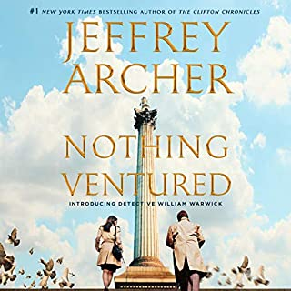 Nothing Ventured audiobook cover art