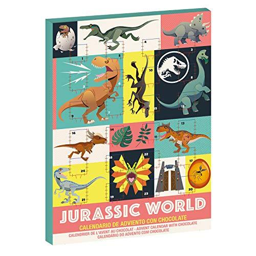 Dekora - Adventskalender chocolade | Adventskalender voor kinderen van Jurassic World - 50 g