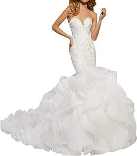 Wedding Dress Lace Mermaid Bridal Dresses Trumpet Wedding Gowns Sweetheart
