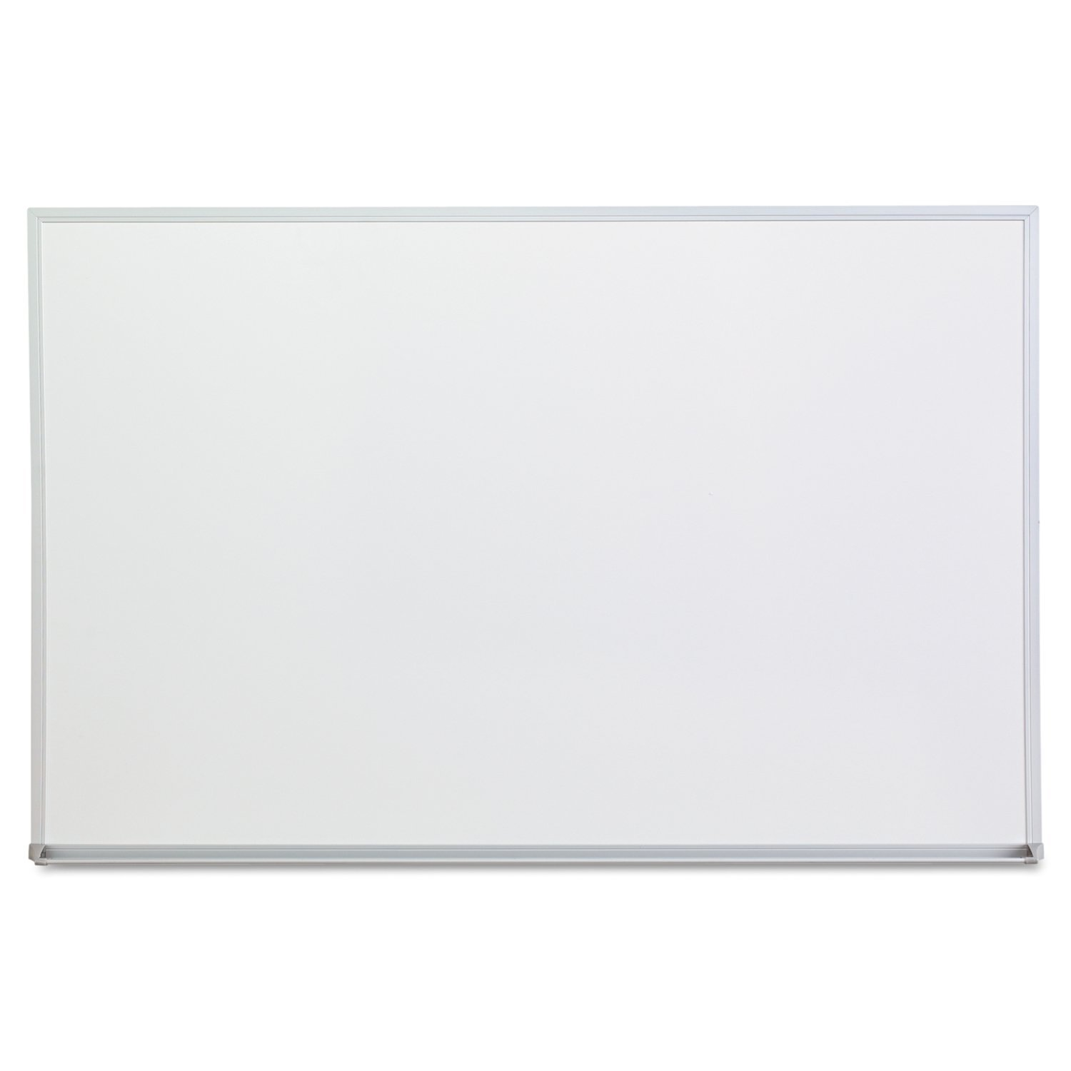 Amazon Com Universal Melamine Dry Erase Board 36 X 24 Inches Satin Finished Aluminum 43623 Office Products
