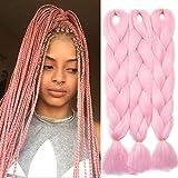"""TESS 24"""" Braids Extensions Kunsthaar Crochet Jumbo Braids Synthetik Braiding"""