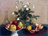 Poster 130 x 100 cm: Äpfel, Birnen und Trauben von Paul