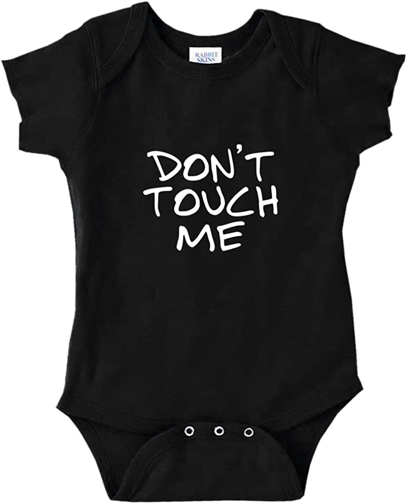 Don/'t Touch Me Germs Funny Baby Bodysuit Shirt