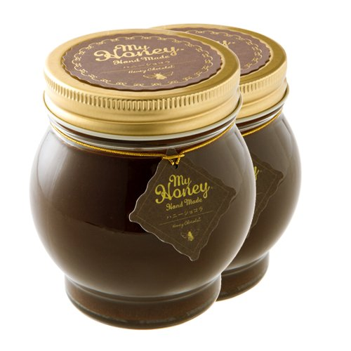 ハニーショコラ チョコレート ハニーとチョコペーストミックス 200g マイハニーシリーズ 産地直送 (2瓶)