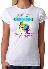 Camiseta Soy el Unicornio de mi Familia Camiseta para Gente Divertida de Regalo para Amigas