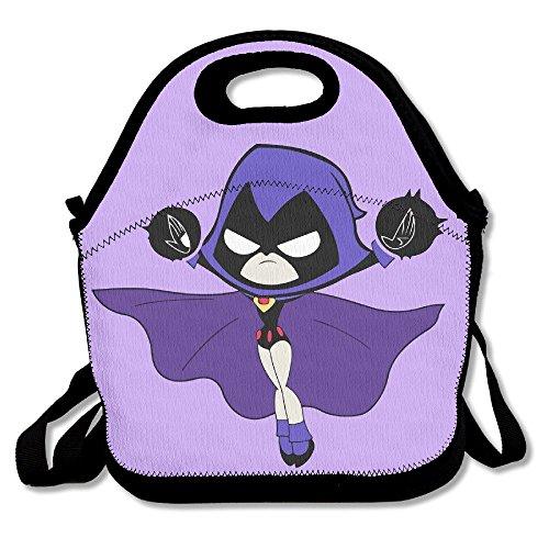 Tesu bolsas teen Titans Go Raven al aire libre/viajes/Picnic bolsa para el...