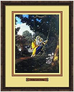 Elegant Arts & Frames Divine Love Swing Multicolour Print 14 x 11 Photo Frame