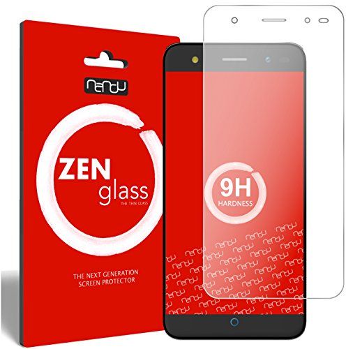 ZenGlass Flexible Glas-Folie kompatibel mit ZTE Blade V7 Lite Panzerfolie I Bildschirm-Schutzfolie 9H I (Kleiner Als Das Gewölbte Bildschirm)