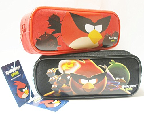 Angry Birds Pencil Pouch and Wallet (Great Birthday Gift Set for Boys)