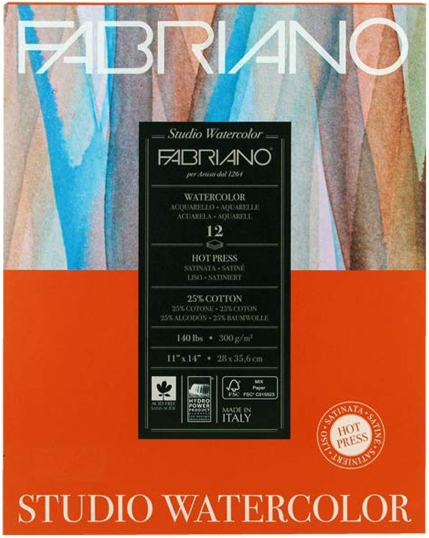 Fabriano Fabriano Fabriano Studio - Aquarellpapier - Heissgepresst - 28 cm x 35,5 cm - 300 g m2 B009YVLOFQ    Starke Hitze- und Hitzebeständigkeit  481b8f