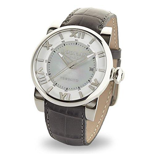 Locman Italy Mujer toscano Reloj Automático Gris Ref. 590