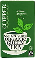 Clipper Ft Organic Green Tea 50 Bag (order 6 for trade outer) / ??????????????????????50?????????????6 ?