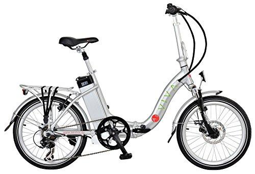 AsVIVA | ELEKTROFAHRRAD/KLAPPFAHRRAD Power Pedelec 36 V, Alu-E-Bike, 20