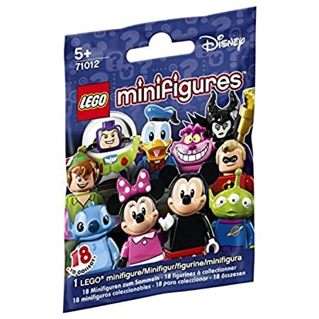 Lego choose your minifigures series disney ref 71012 new and sealed