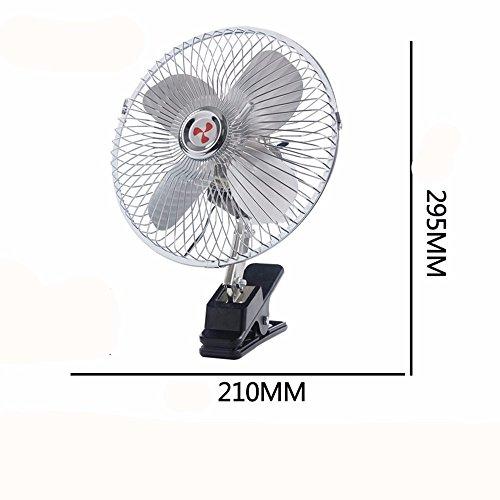 JISHUQICHEFUWU Ventilateur de 8 Pouces 12 V/Ventilateur de Voiture/pièces d'auto/Fournitures d'été de Voiture