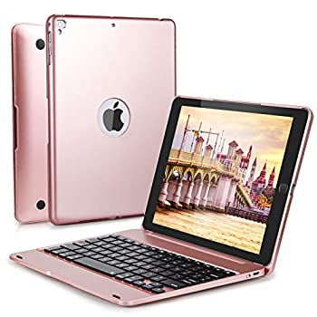 iPad Keyboard Case 9.7 inch for iPad 6th Generation 2018  iPad 5th Gen 2017  iPad Air 2 and 1 iPad Pro 9.7 inch LAVO-TECH Wireless Bluetooth iPad Case with Keyboard Slim Full Protection Cover
