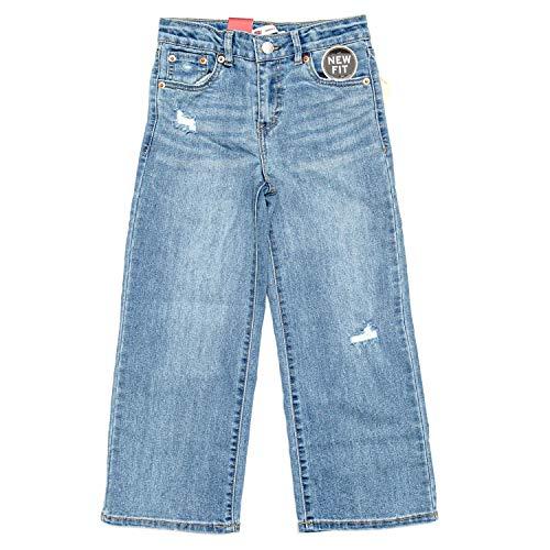 Levi's Kids Lvg Cropped Brede leggings voor meisjes