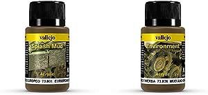 Vallejo ml quot European Splash Mud quot  Weathering Effect Bottle  amp 40 ml quot Mud and Grass Effect quot  Weathering Effect Bottle