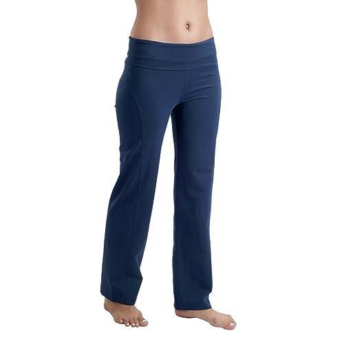 fe9ab7e255 Proyog Organic Yoga Foldover Waist Pants (29