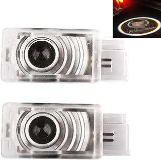 Moonet 2 x LED Door Courtesy Shadow Ghost Lamp Projector Light for Cadillac 2011-2018 SRX,2013-2018 XTS,2013-2018 ATS ATS-L, 2016-2018 XT5