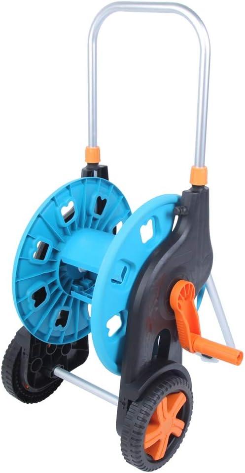 FECAMOS Hose Trolley Pipe Reel Holder Regular Cash special price dealer Two-Wheels Design No