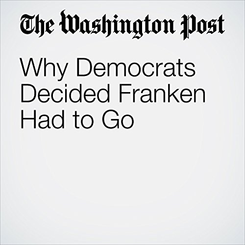 Why Democrats Decided Franken Had to Go copertina