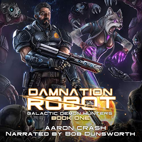 Damnation Robot audiobook cover art
