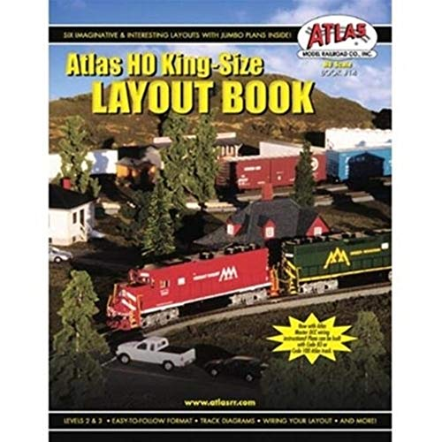 Atlas HO King-Size Plan Layout Book