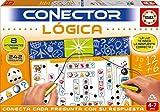 Educa - Conector Lógica Juego Educativo para Niños, Multicolor (17201)