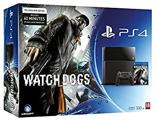 Console PS4 500 Go Noire + Watch Dogs (B00ET1ME3W) | Amazon price tracker / tracking, Amazon price history charts, Amazon price watches, Amazon price drop alerts