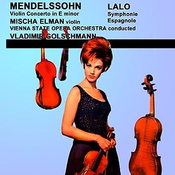 Mendelssohn Violin Concerto & Lalo Symphonie Espagnole