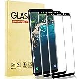 Lixuve 2 Piezas Samsung Galaxy S9 Protector Pantalla de Vidrio Templado, HD Cobertura Toda Cristal Templado Película Protectora para Samsung S9, Alta Sensibilidad, 9H Dureza, Sin Burbujas