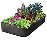 EZ-GRO 4 ft X 8 ft'Big Green Growing Machine' Raised Bed Garden AeroFlow Proprietary Fabric No Assembly Required by Victory 8