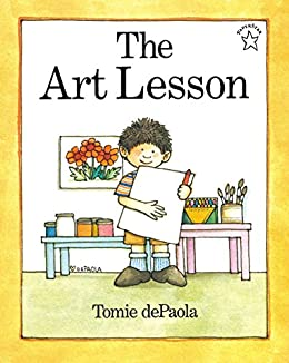 The Art Lesson (Paperstar Book) by [Tomie dePaola]
