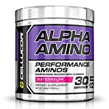 Cellucor Alpha Amino Acids Supplements with BCAA Powder, Watermelon, 13.54 Ounce 30 Servings